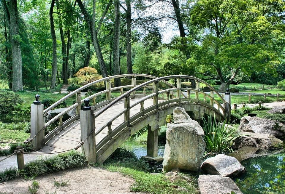 Création jardin japonais en ardoise