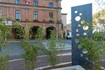 piquets de schiste ardoisiers Totem Aménagement paysager