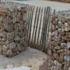 Galet ocre Dordogne 60-90 et 90-150 mm pour Gabions