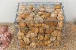 Galet ocre Dordogne 60-90 mm pour Gabion (4)