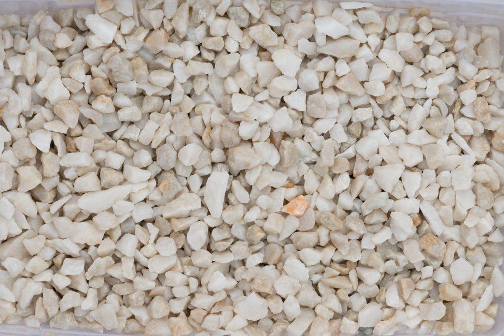 Gravier Quartz blanc 6-10 mm